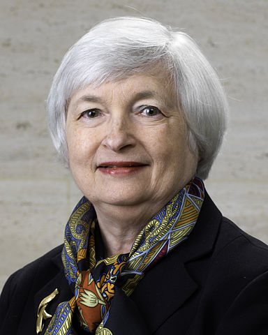Janet Yellen Federal Reserve Chairperson