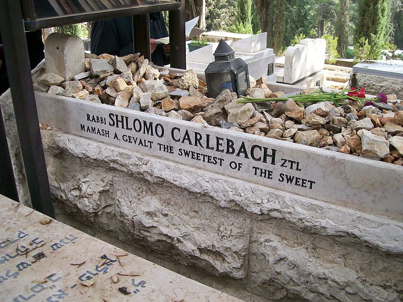Grave of Rabbi Shlomo Carlebach
