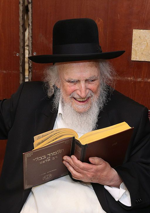 Rabbi Shmuel Auerbach, of blessed memory, happy as he learns from the Holy Torah