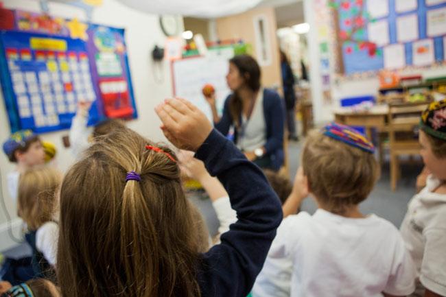 American Jewish classroom