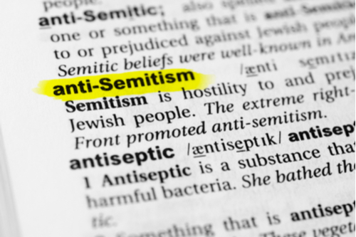 Antisemitism dictionary definition
