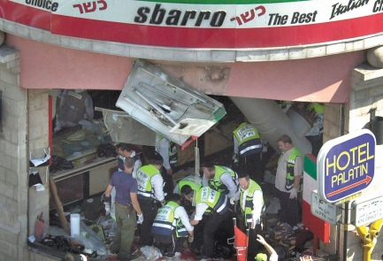 sbarro bombing jerusalem 2001