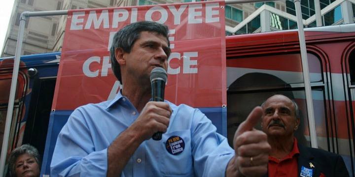 Democratic hopeful Joe Sestak