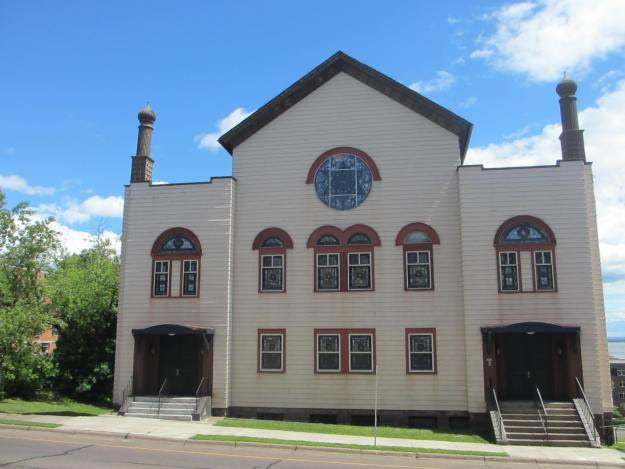 Duluth Adas Israel Synagogue before the fire
