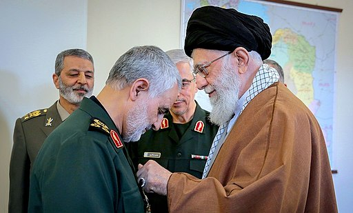 Soleimani receives order from Khameini