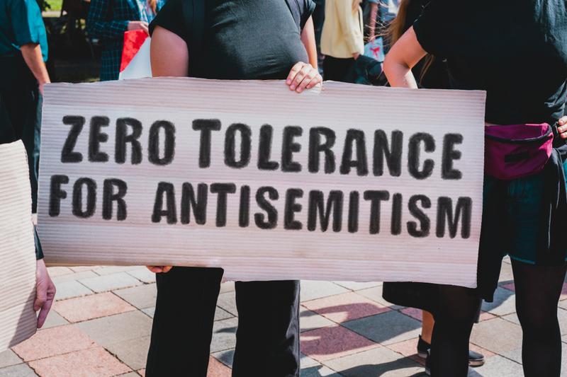 antisemitism rally