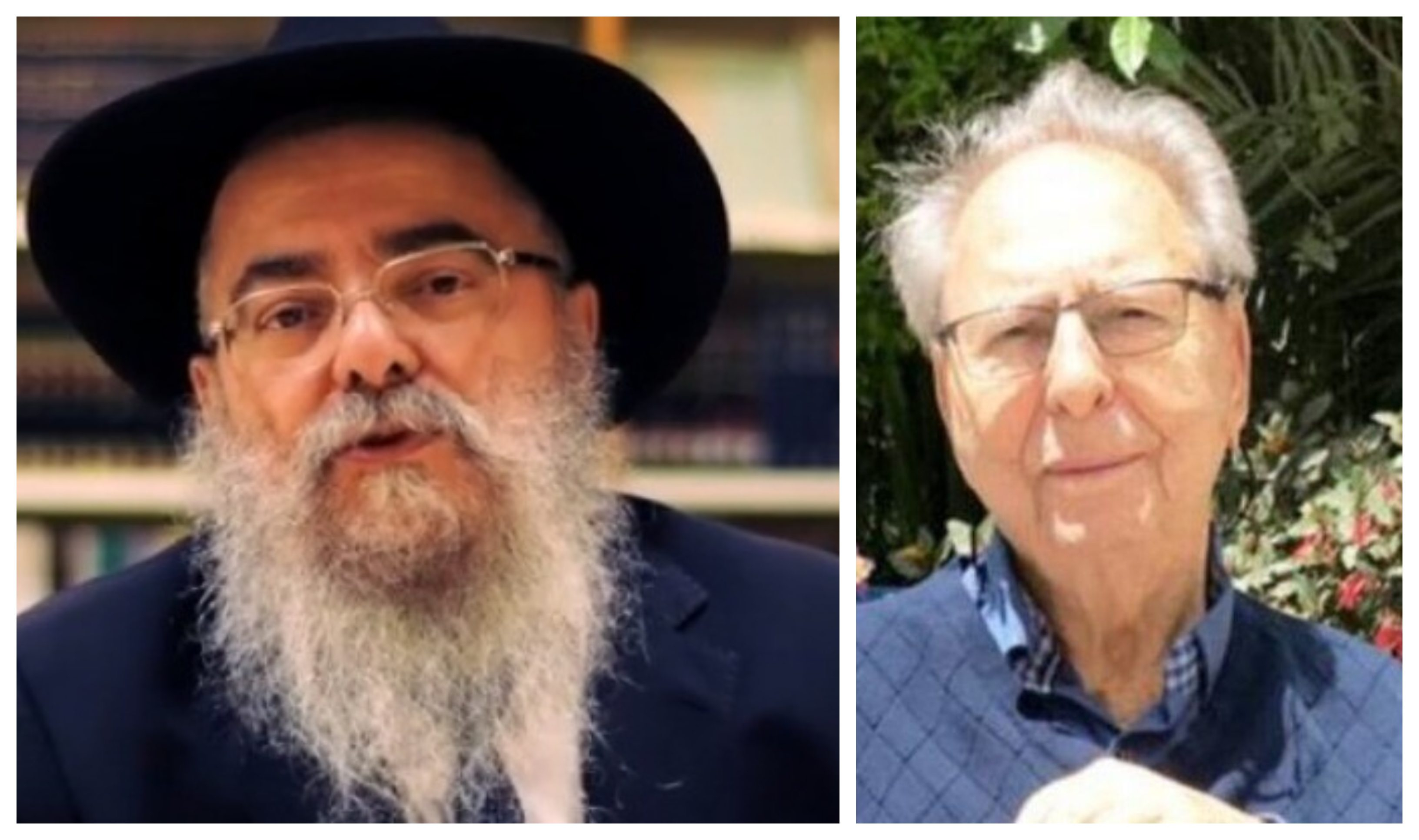 Rabbi Masud Tubul and Aryeh Even, early Jewish victims of the novel coronavirus