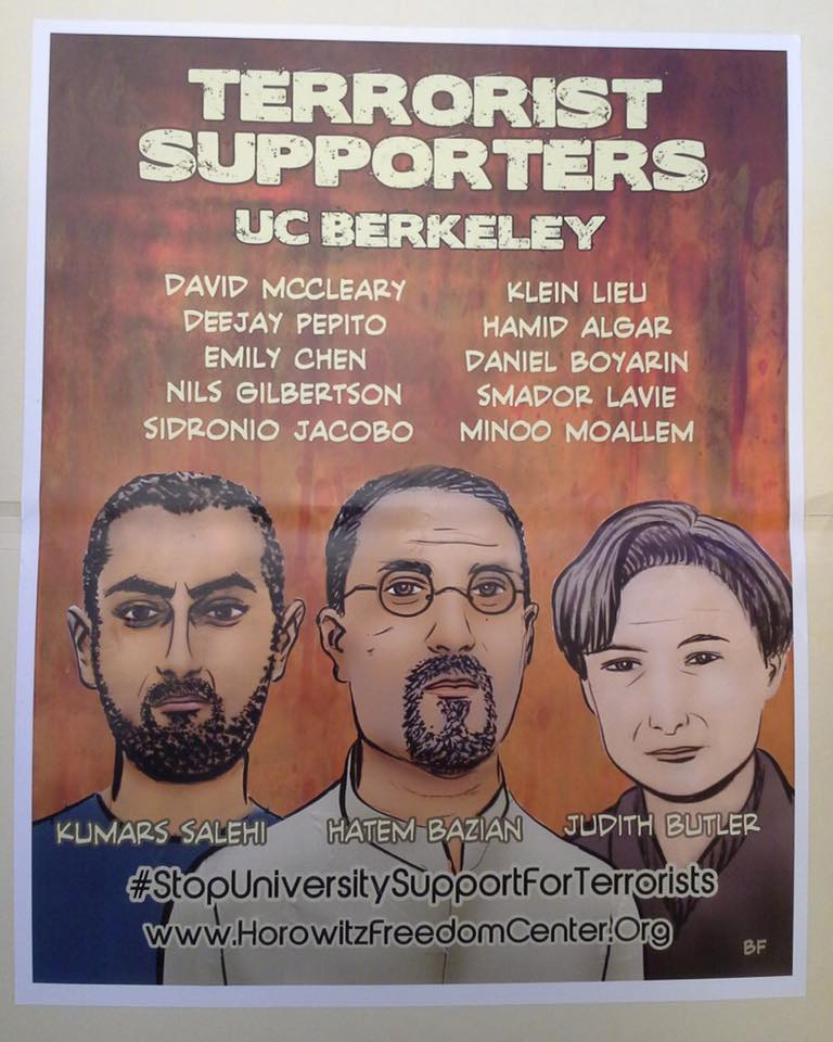 Terrorist Supporters UC Berkeley