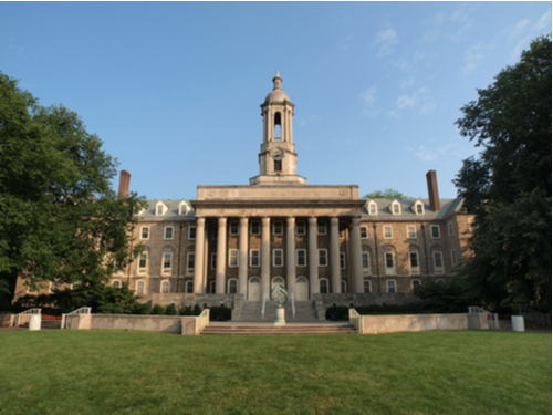 Old main building of Penn State University