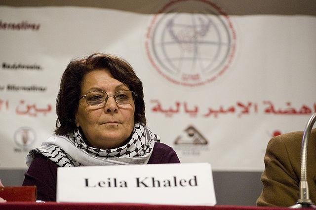 Terrorist Leila Khaled