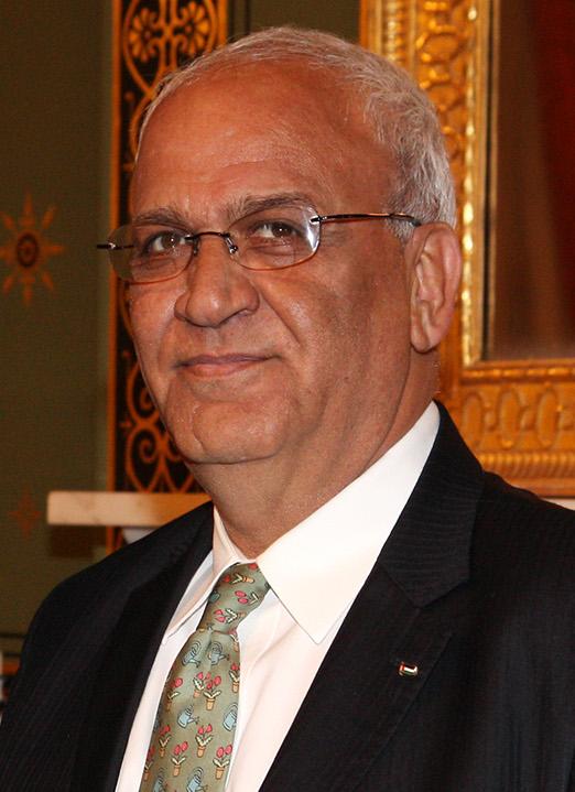 Saeb Erekat 2014