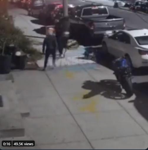 Williamsburg antisemitic attack October 15 2020 screenshot