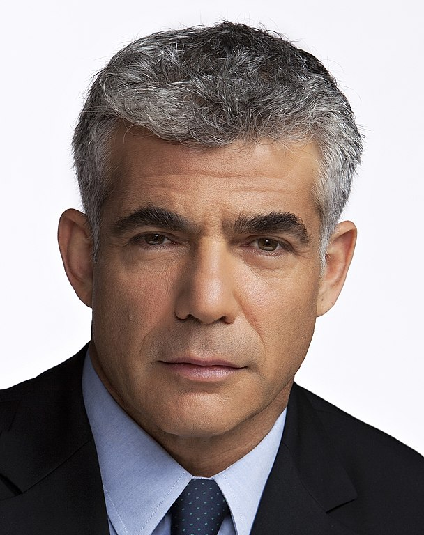 Alternate Prime Minister and Foreign Minister of Israel Yair Lapid