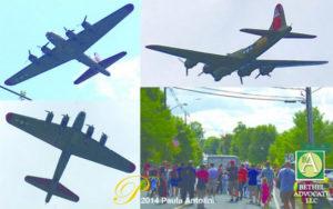 airplanenewtownlabordayparade2014