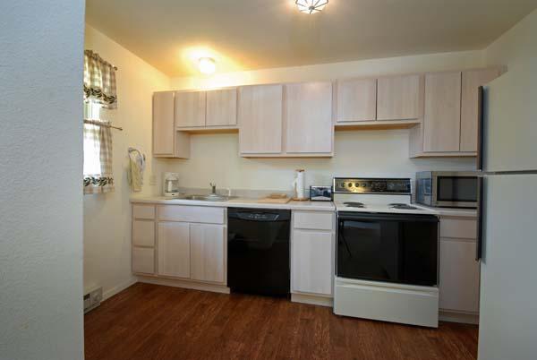 Kitchen of Duplex Right, Rainbow Valley Lodge