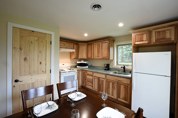 Bear Creek Cottage Kitchen