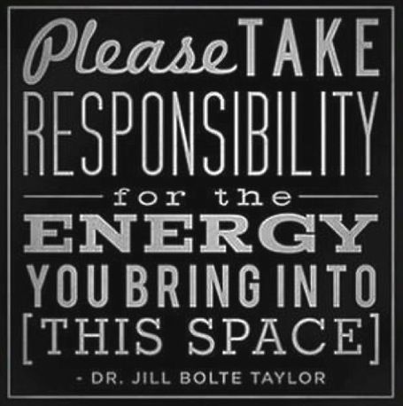 responsible for energy