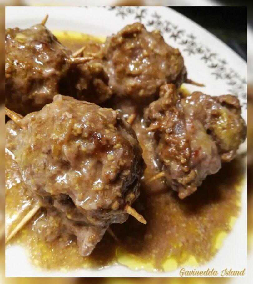 Fagottini di vitello al curry