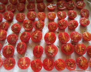 Pomodori confit crudi