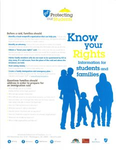 Know Your Rights: Protecting Our Students