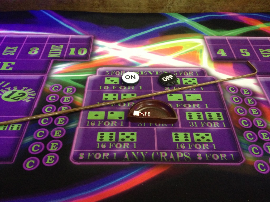 Blacklight Craps Amusement Masters