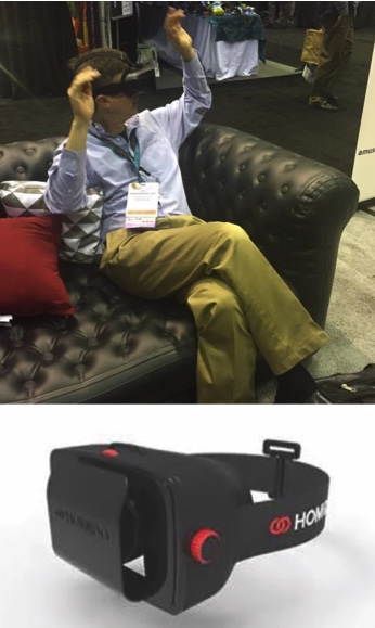 Virtual Reality Googles Collage AM