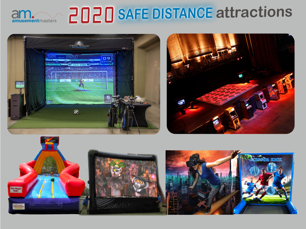 2020 Safe Distance Attractions Slider event rentals, Virtual Events, event company, Photo Booth Rentals, event management company, Virtual Reality Rentals, party rentals near me, Movie Night Rentals, party rental, College Event Rentals, corporate events, Interactive Game Rentals, event rentals near me, Social Distance Rentals, Arcade Rentals, corporate meeting planner, corporate party, Backyard Game Rentals, event planning companies, event organisers, corporate event planner, event management services, corporate event management, party event rentals, company events, event production companies, company event, Holiday Event Rentals, Virtual Casino Nights, Virtual Trivia, Virtual Santa Rental