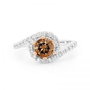 Delicious Day Dream Chocolate Diamond Ring