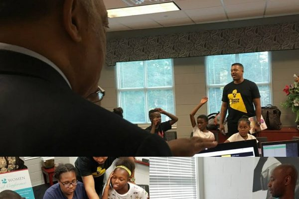 The Hidden Genius Project TEAM Inc. and Rainbow Push Coalition at the Andrew & Walter Young YMCA in Atlanta