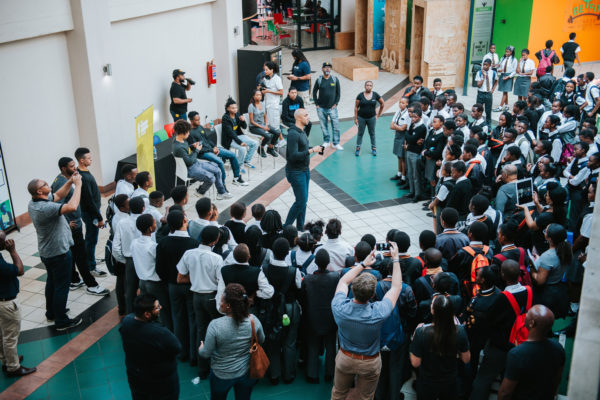 AerialView-GroupPhoto-YouthPanel-TechSlamSouthAfrica