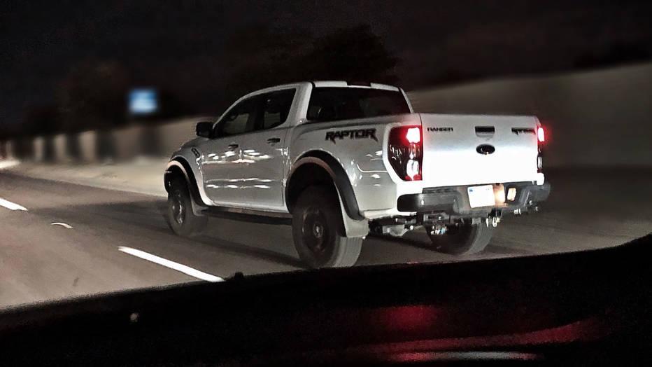Ford Ranger Raptor is night-testing on U.S. highways