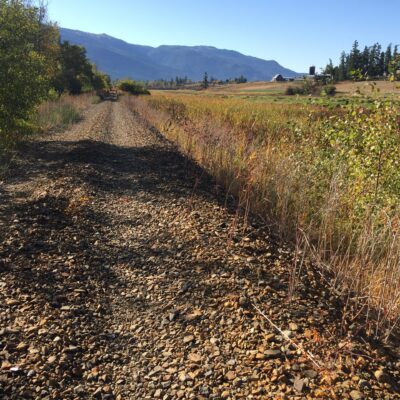 The Agricultural Land Commission gives go-ahead for rail trail between Sicamous and Armstrong (Photo Credit: The Shuswap Trail Alliance)