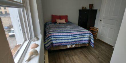 Queen Bed Included