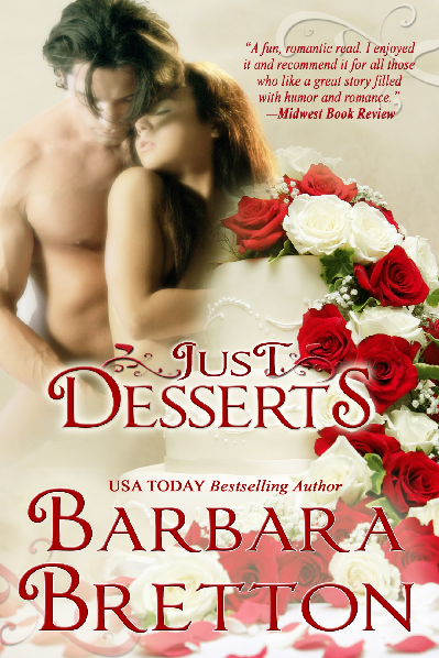 Just Desserts by Barbara Bretton, contemporary romance, book tour, ebook