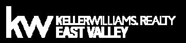 Keller Williams Realty East Valley White Logo