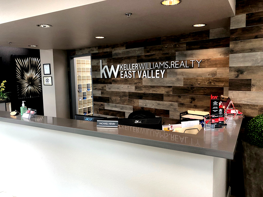 Keller Williams East Valley Front Desk