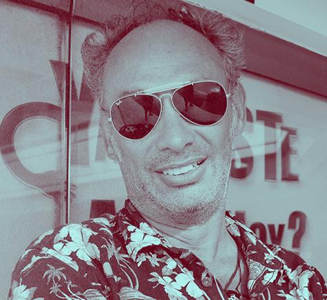 Julio Correal Fundador de Rock the Park podcast