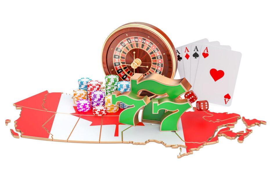 Canada Gambling Map