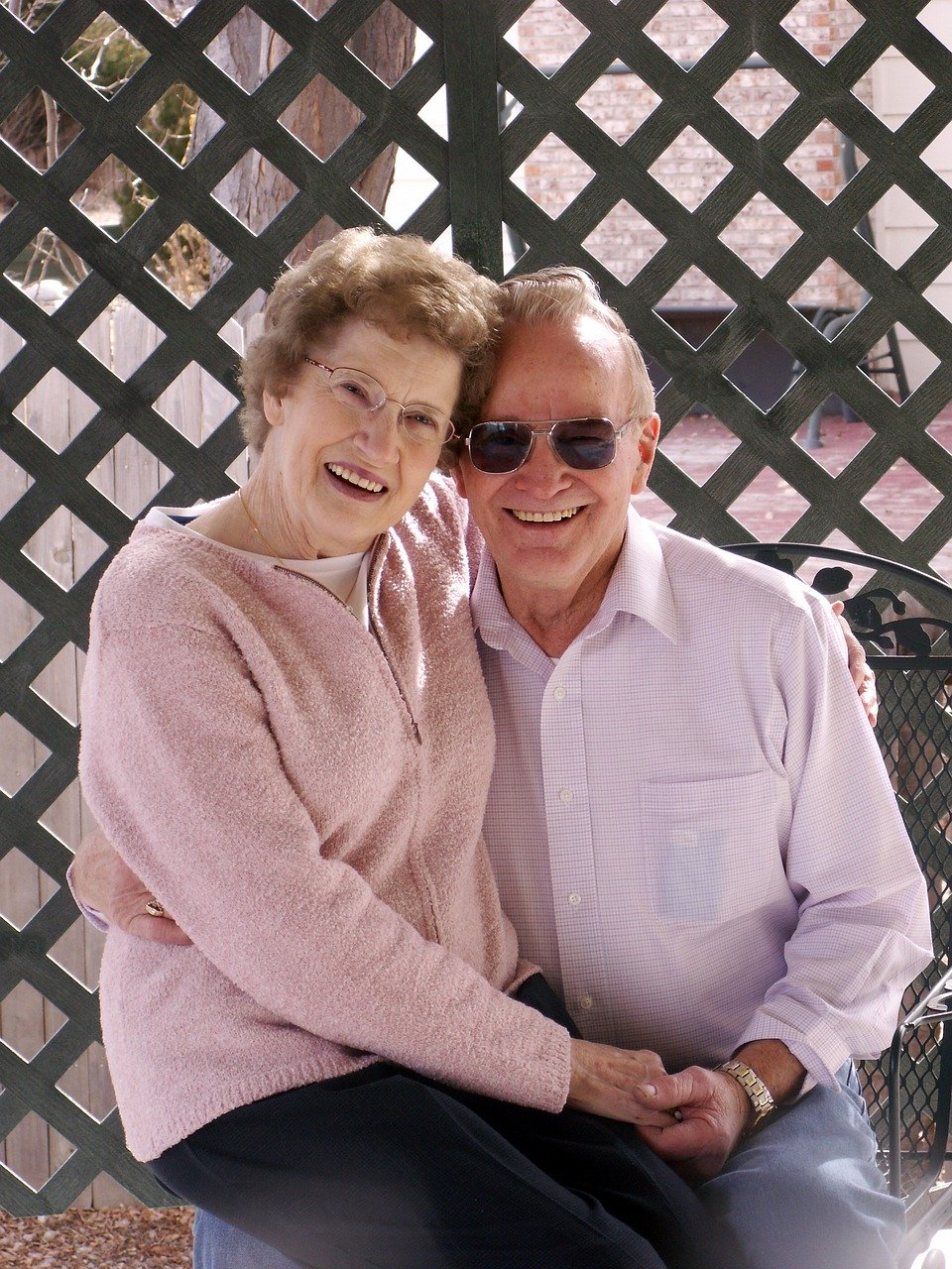 old couple, old, senior