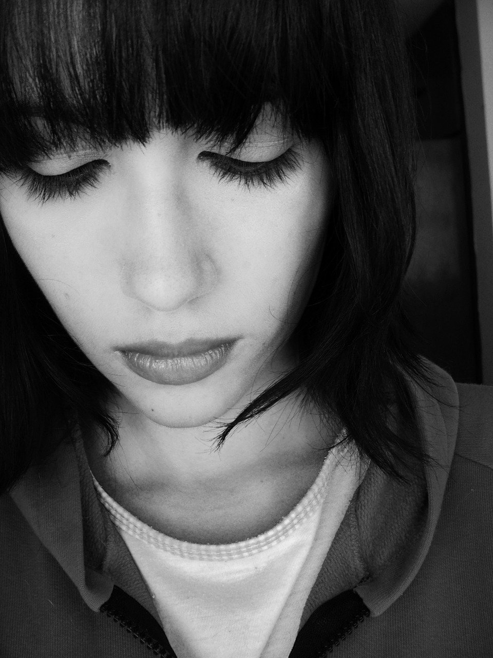 sad, woman, sorrow