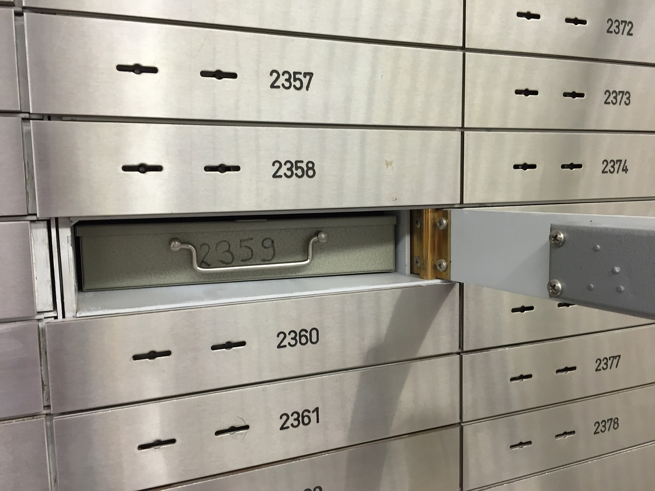 safe, bank, safe deposit box