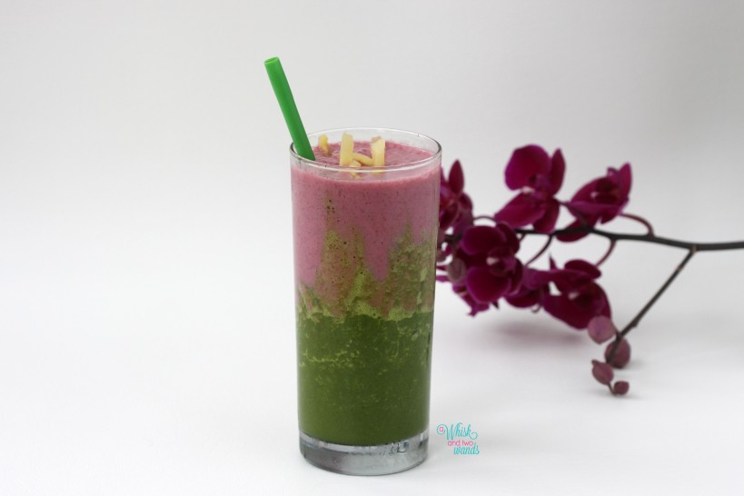 Green Dragon Fruit Smoothie