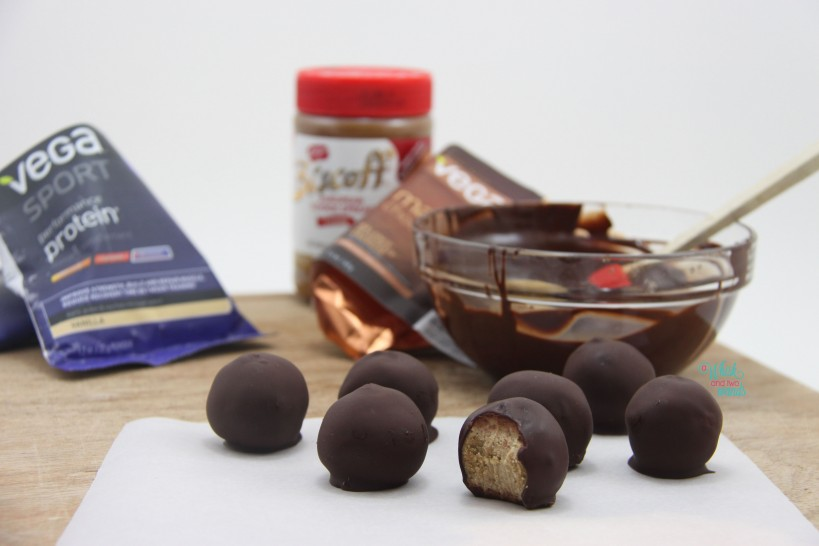 Cookie Butter Protein Truffle Balls