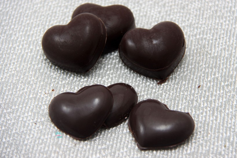 Coconut Berry Cream Chocolates