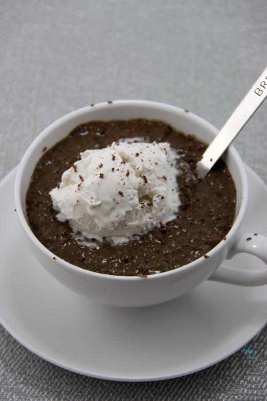 Mocha Protein Chia Pudding