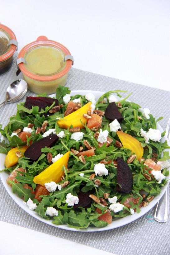 Orange You Glad You Said Beet Salad