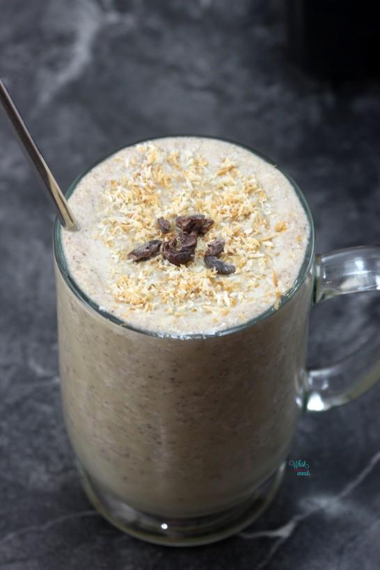 Somoas Cookie Protein Shake