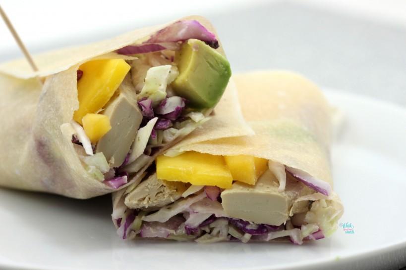 Mango Chicken Coconut Wrap