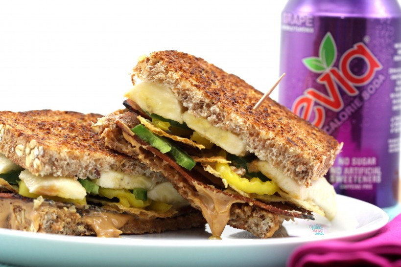 Hunk Of Burning Love Sandwich