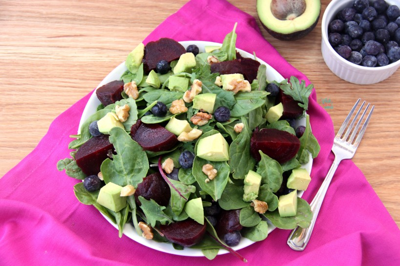 ABB (Avocado Blueberry Beet) Salad